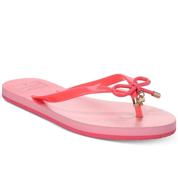 e18a14640d07a3 kate spade Shoes | Last Two Nib Nova Flipflops | Poshmark